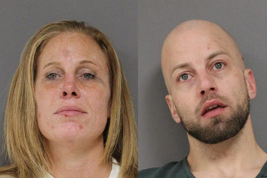 Michelle Karcher and Michael Centofanti were arrested for multiple possession of narcotics including intent to distribute on Dec. 5