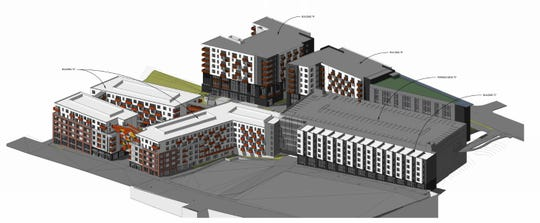 The City Council is set to vote Dec. 10 on whether to approve a 488-unit apartment, office and commercial complex on downtown's South Slope.