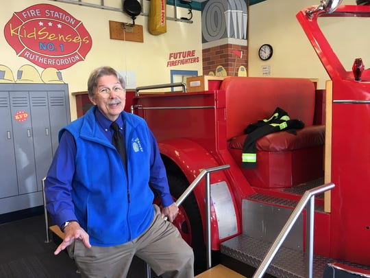"""Willard Whitson, director of KidSenses interactive children's museum in Rutherfordton, says he has """"learned how invested you can become in a community like this."""""""