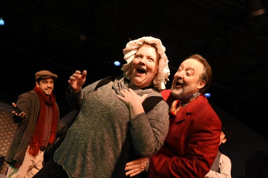 """Cider Mill Stage in Endicott presents an adaptation of the holiday classic """"A Christmas Carol"""" by Charles Dickens. December 6, 2019."""