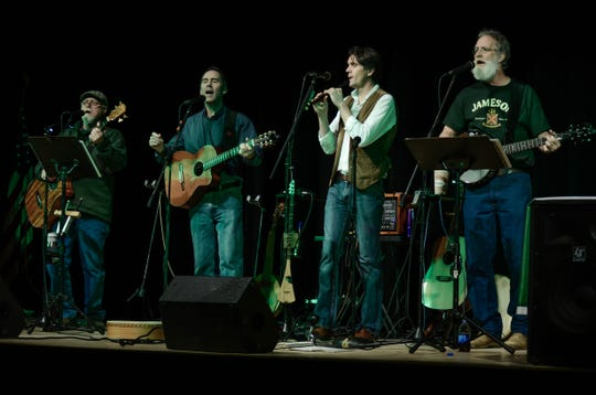 The Stoutmen will headline the KNOW Theatre fundraiser Celtic Christmas on Saturday at Atomic Tom's in Binghamton.