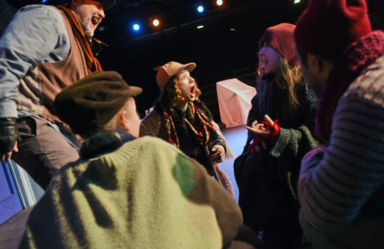 "The cast of Cider Mill Stage in Endicott presents ""A Christmas Carol"" by Charles Dickens."