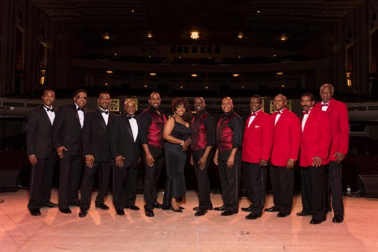 The Drifters, The Platters and Cornel Gunter's Coasters, will perform in concert together at the Broome County Forum Thursday evening.