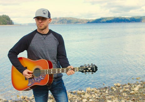 Joel Gibson Jr. will perform with his band, The Hired Guns.