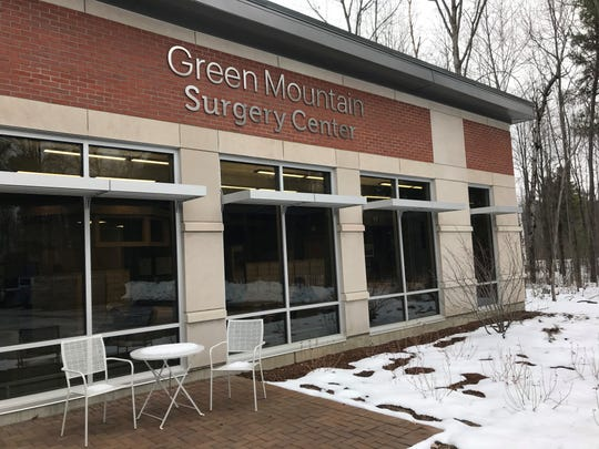 The Green Mountain Surgery Center in Colchester on Nov. 18, 2019.
