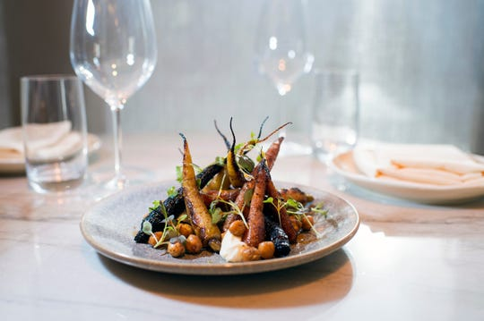 Wood roasted carrots from Hearthside in Collingswood, N.J.