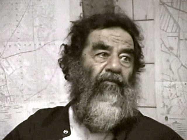 Image result for Saddam Hussein