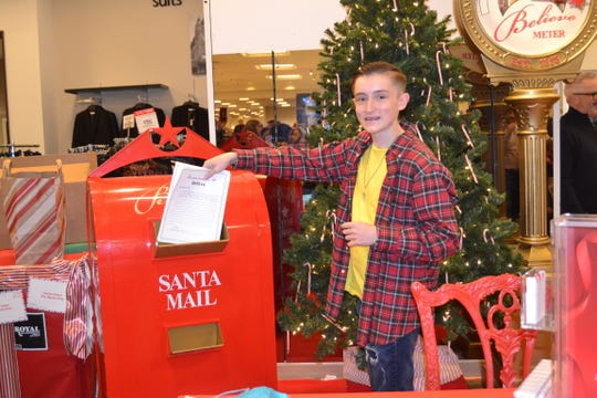 AJ Silvestri once again collected letters for Make-A-Wish Foundation through Macy's Believe campaign. On Dec. 6, Silvestri, now 15 and a sophomore at Old Bridge High School dropped off  211,729 holiday letters for the campaign  at the Macy's in Brunswick Square Mall in East Brunswick. The campaign helps Make-A-Wish, the organization that made Silvestri's  dream become a reality in 2012.