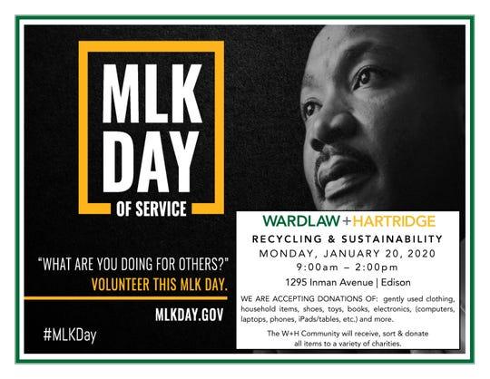 MLK Day of serivce