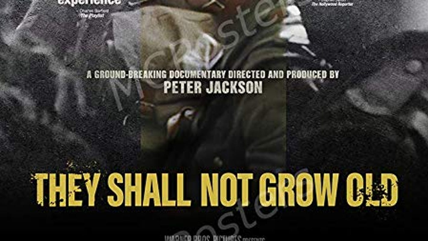 Central Iowans can see moving documentary 'They Shall Not Grow Old' on Dec. 17-18