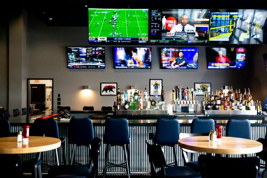 Inside GameDay, a Dave and Buster's style restaurant, bar and arcade, on Monday, Dec. 9, 2019, at Merle Hay Mall.