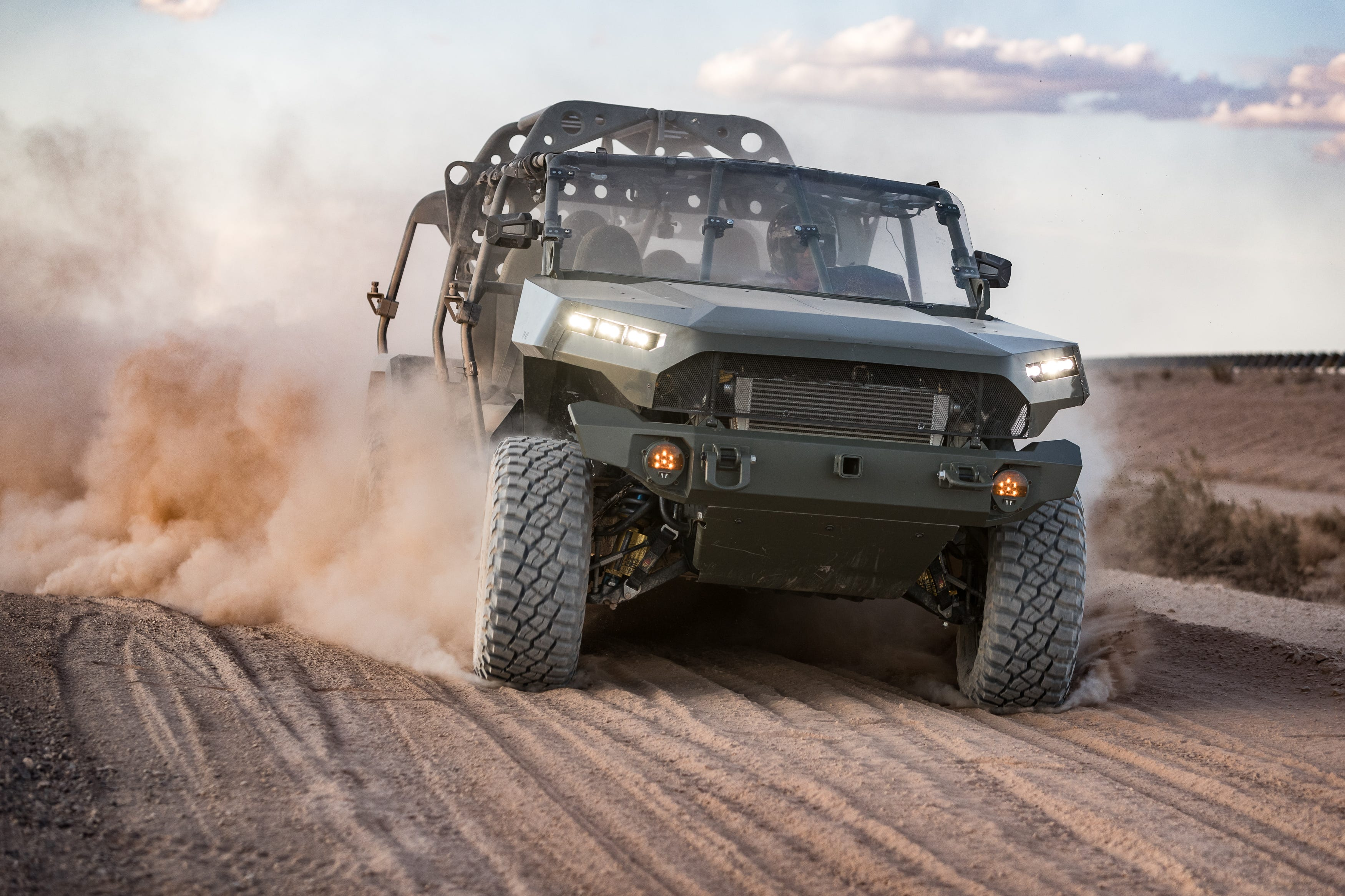 GM Defense delivers 1st infantry military vehicles to U.S. Army