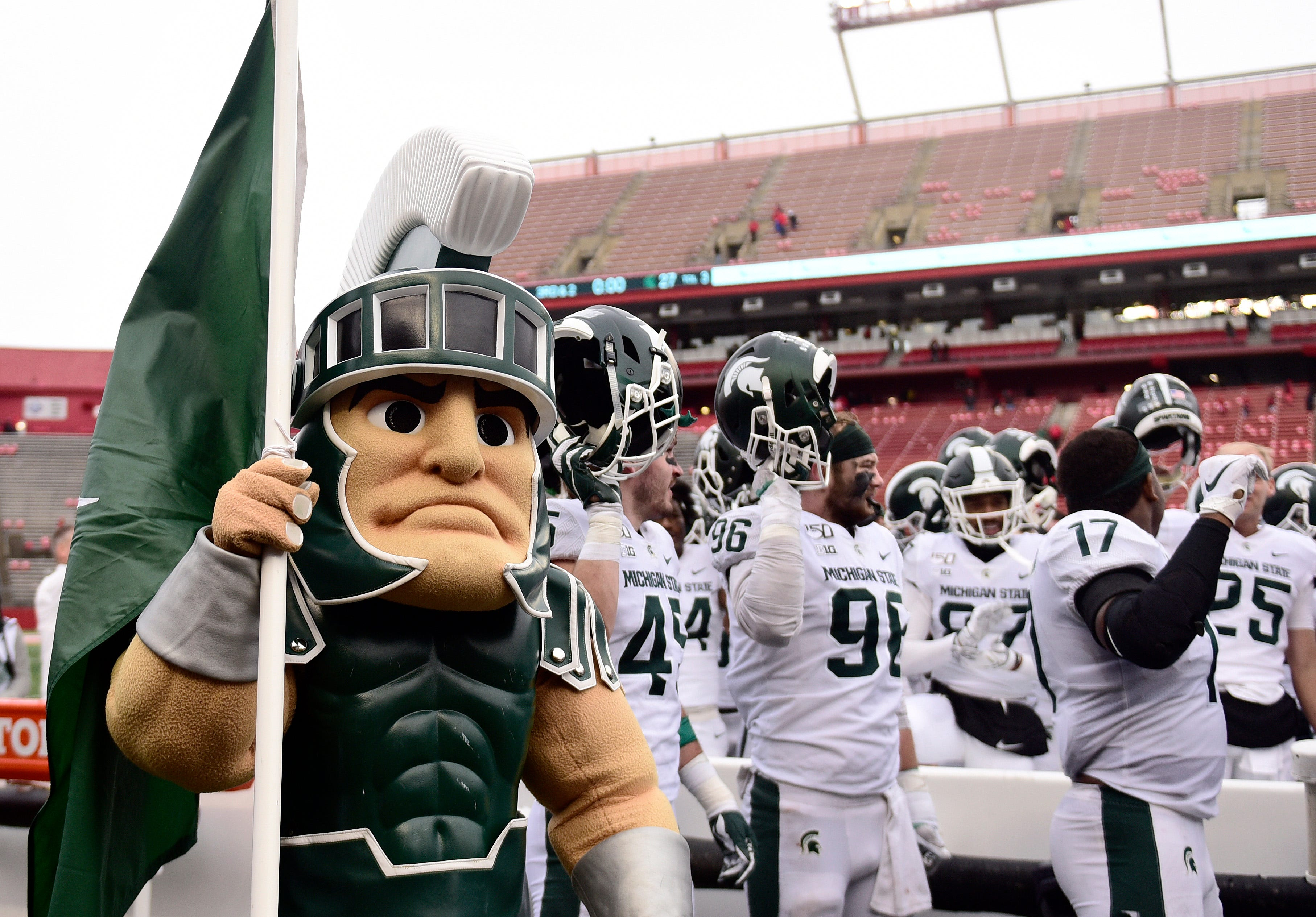 Two Michigan State football players suspended indefinitely