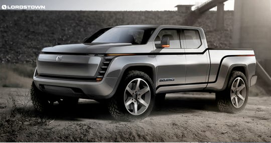 The Lordstown Endurance electric pickup will feature an all-electric range of up to 250+ miles per charge, according to the company.
