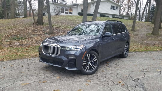 The 2020 BMW X7 50i is a $112K rolling Versailles castle of goodies.