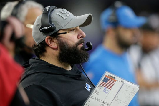Lions coach Matt Patricia hasn't shown many signs of progress in Year 2.