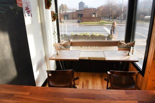 Folk restaurant  offers causal seating in Corktown.
