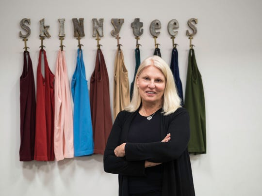 Linda Schlesinger-Wagner, Founder/CEO of Skinnytees, started in the apparel business over 40 years ago. She talks about the changes in the apparel industry and the possibility of opening a local store front in Birmingham, Michigan.