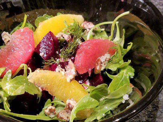 Braised Beet Salad at Schymik's Kitchen.