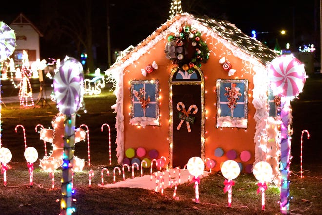 The 2018 Sandusky County Fairgrounds Winter Wonderland drew hundreds of motorists that slowly circled around the fairgrounds and looked at dozens of colorful holiday light displays. This year's Winter Wonderland, which starts Thursday at 6 p.m., will mark the eighth year the fairgrounds has hosted the holiday event.