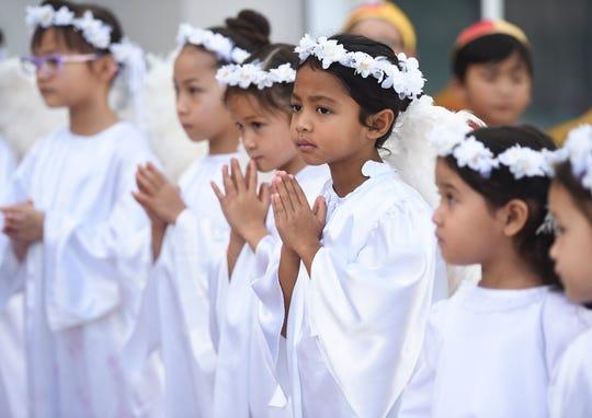The Santa Marian Kamalen is celebrated at the Dulce Nombre de Maria Cathedral-Basilica in Hagatña, Dec. 9, 2019.