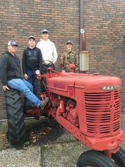 Pictured are Justin Mosely, Andrew Collins, Brayden French, and David Kramer. Alternates were Austin Powell and Cory Hutchison, the UC FFA Small Engines Team.