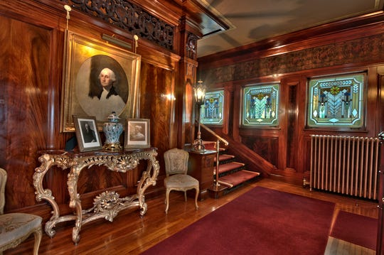 The Ruthmere Mansion in Elkhart is known for its rich, lush interior.