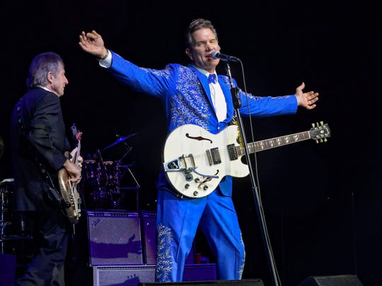 Chris Isaak performs Sunday at Brown County Music Center.