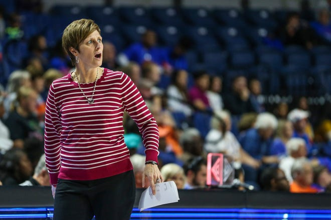 Indiana coach Teri Moren guided the Hoosiers to their highest national ranking this season.