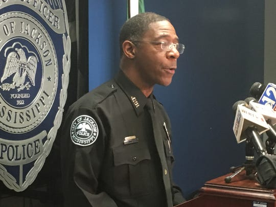 Jackson Police Department Spokesman Sam Brown said two recent shootings on or near major thoroughfares in the Jackson area do not appear to be related at a Dec. 6, 2019, press conference.
