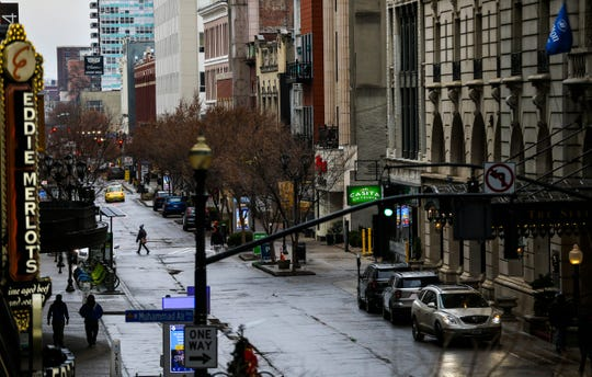 Fourth Street in downtown Louisville is more than just the Fourth Street Live barplex. There are boutique stores, eateries, several wig shops and the Louisville Palace.