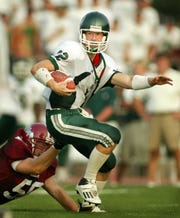 Mr. Football 2003 Brian Brohm ranks sixth in state history in career passing yards (10,579).