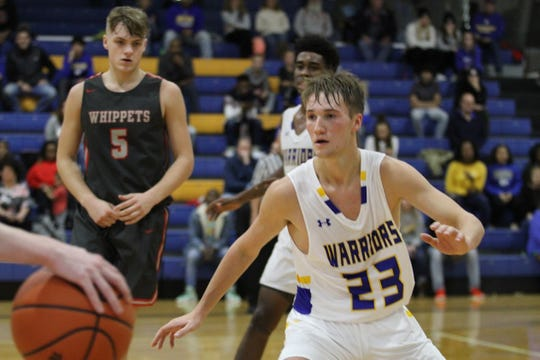 Ontario's Griffin Shaver has the Warriors sitting at 1-1 and poised to rebound from a tough loss to Shelby on Saturday.