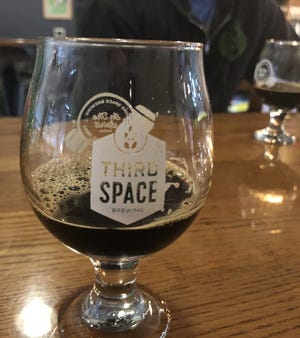 Third Space releases Nexus of the Universe and its variants on Saturday. Oh, and the glass is for sale, too.