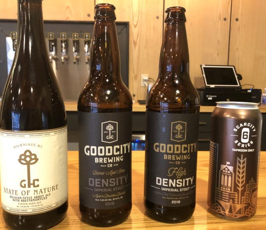 Good City will release four beers on Saturday, otherwise known as Density Day.
