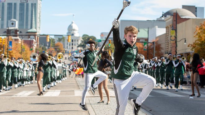 High School Drum Major 'Vanilla Funk' Heideman chose Alabama State University