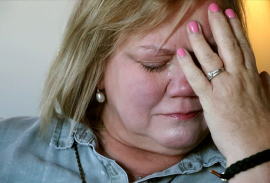 Tammie Elkins talks about her son, Matthew Cotter, on Dec. 5, 2019. Cotter, 24, died of an opioid overdose Dec. 31, 2017.