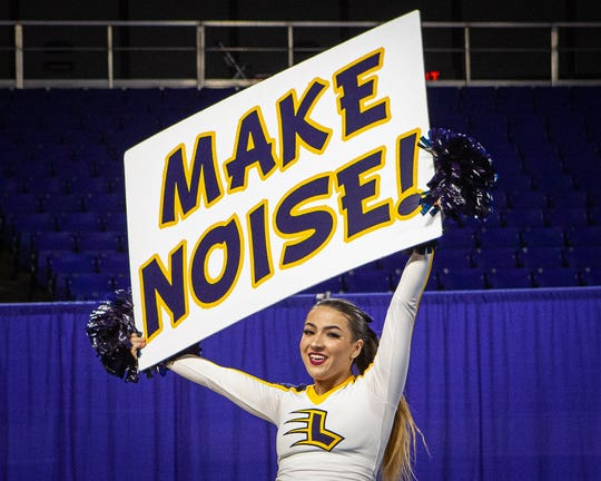 Lausanne at the 2019 TSSAA Cheerleading Championships, held Saturday, Dec. 7 at Middle Tennessee State University in Murfreesboro.