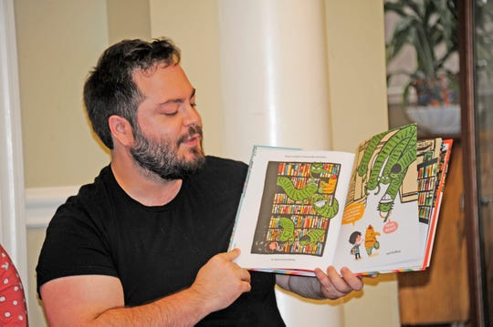 Chris Lutz, manager of The Curious Reader in Glen Rock