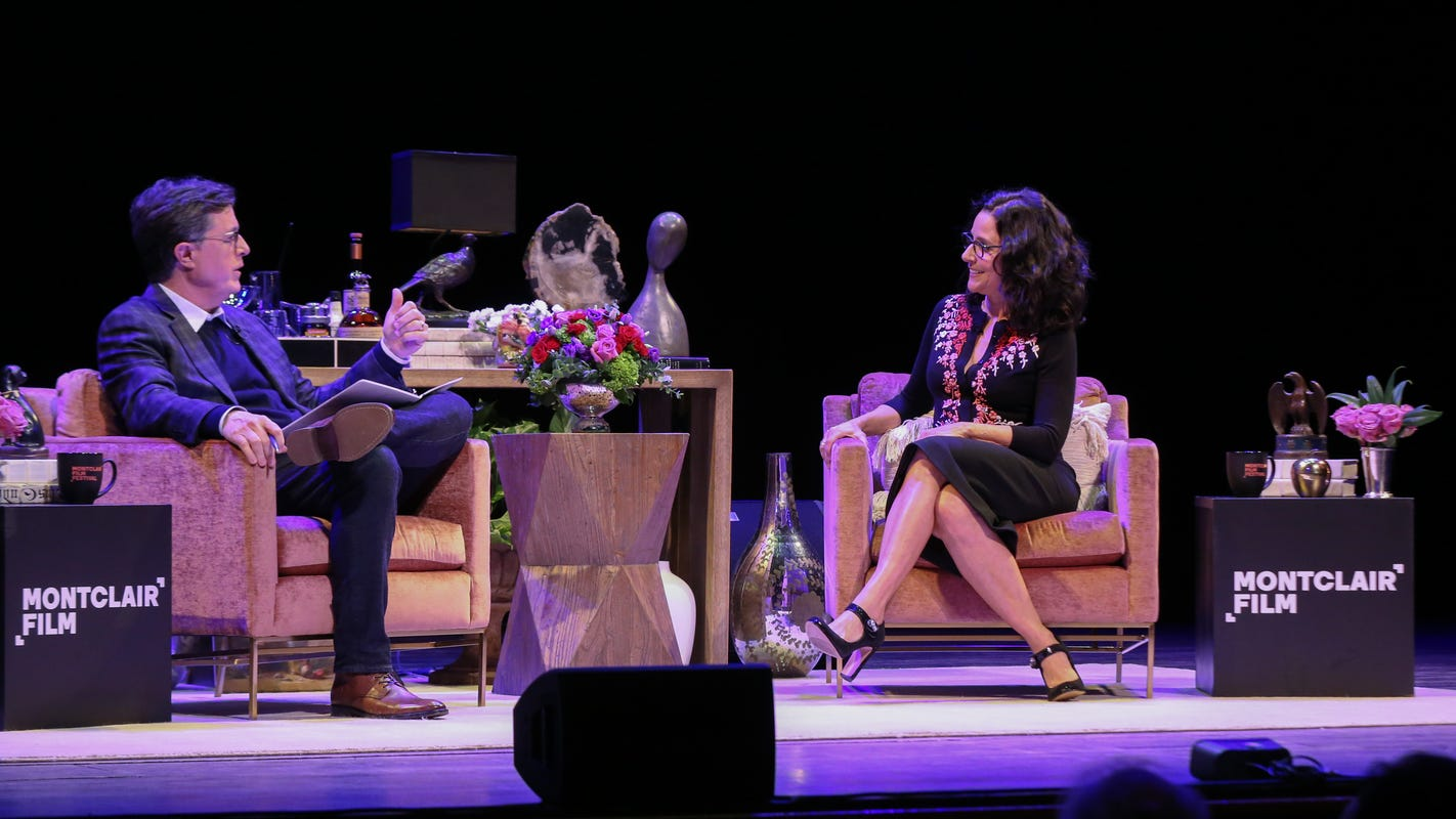 From 'Seinfeld' to 'Veep': Highlights of Colbert's sit-down with Julia Louis-Dreyfus