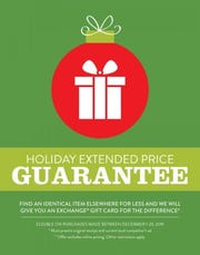 The Army & Air Force Exchange Service is keeping its promise to Warfighters and their families to keep prices low this gift-giving season with an extended holiday price guarantee from Dec. 1 through Dec. 24.