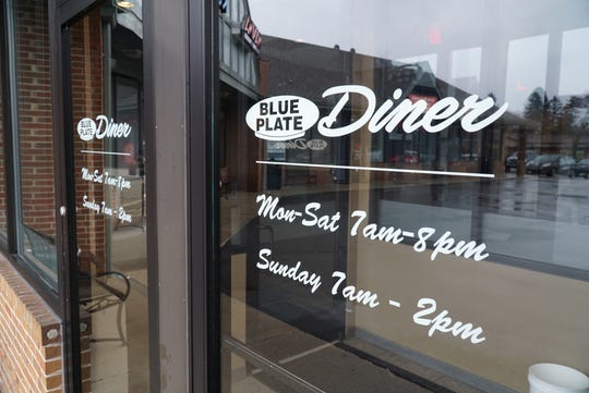 Livonia's now-closed Blue Plate Diner at 32610 Seven Mile Road.