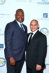 Armando Munoz, with Boys & Girls Clubs of Coachella Valley President and CEO Quinton Egson, credits the club with saving his life.