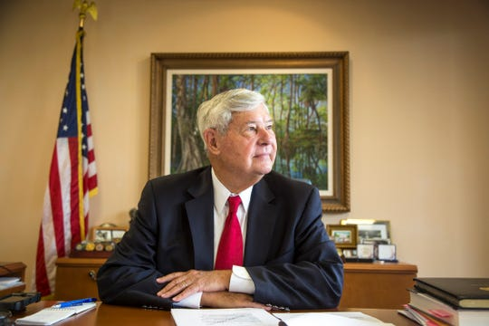 "Former Senator Bob Graham of Florida in his office in Miami Lakes, Fla., March 26, 2015. Graham says he will not relent in his efforts to force the government to make public a secret section of a congressional review of the Sept. 11 attacks he helped write. ""I think the American people deserve to know the truth of what has happened in their name,"" Graham said."