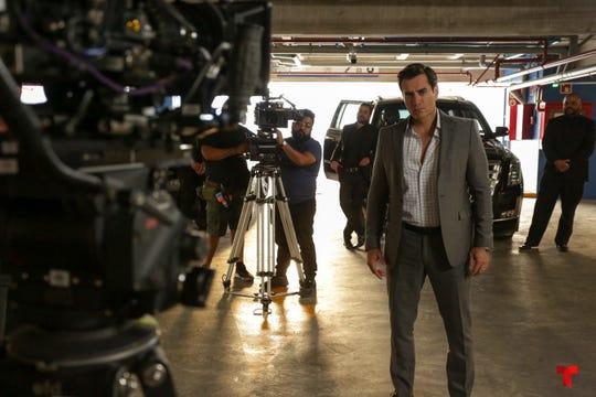 """El actor sonorense David Zepeda está muy contento con el cálido recibimiento que le ha dado la producción """"La Doña"""", en su regreso a Telemundo."""