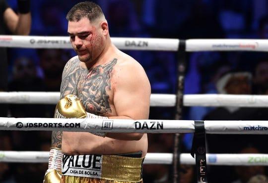 Andy Ruiz Jr. admitió que no se preparó bien para la pelea.