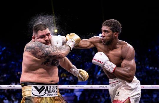 Andy Ruiz ya no fue el mismo de la 1er pelea.
