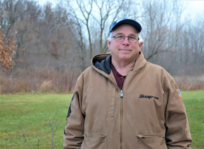 Greg Sanderson regularly volunteers over 20 hours a week at Ottawa National Wildlife Refuge.