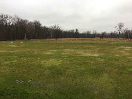 The dirving range of Golf Country, pictured on Dec. 9, 2019. The Michigan Department of Natural Resources is selling a strip of land in Kimball Township. The parcel is surrounded by private property, including Golf Country and land owned by St. Clair County.
