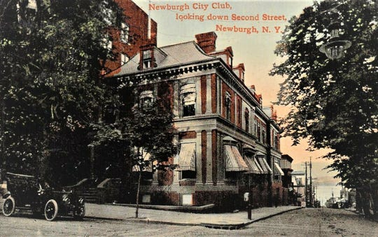 The Newburgh City Club was founded in the late 19th century and occupied a building that was designed by renowned architects Andrew Jackson Downing and Calvert Vaux. It was similar to the Amrita Club in Poughkeepsie, and its members were local businessmen and politicians, who entertained associates in the stylish environment.